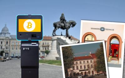 New Bitcoin ATM in Cluj-Napoca